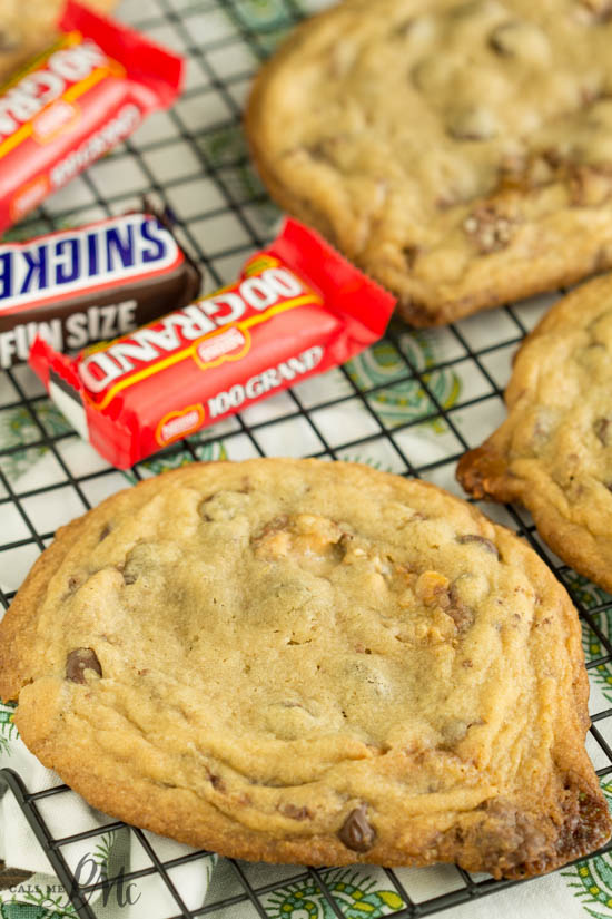 baking. dessert. Quarter Pound Chocolate Candy Bar Cookie Recipe is irresistibly good. When you can't decide between a cookie and a candy bar, combine the two for an extraordinary dessert!
