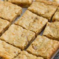 Butterfinger Blondies recipe