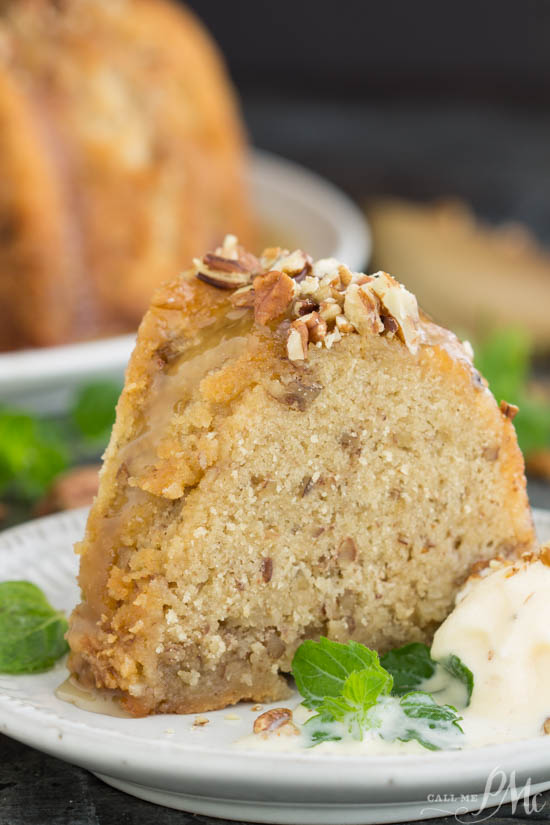dessert recipe. Melt-in-your-mouth Southern Butter Pecan Pound Cake is a moist, rich, and delicious cake recipe with the texture of classic pound cake and crunch from buttered pecans.