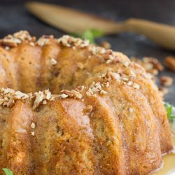 Melt-in-your-mouth Southern Butter Pecan Pound Cake is a moist, rich, and delicious cake recipe with the texture of classic pound cakeand crunch from buttered pecans.