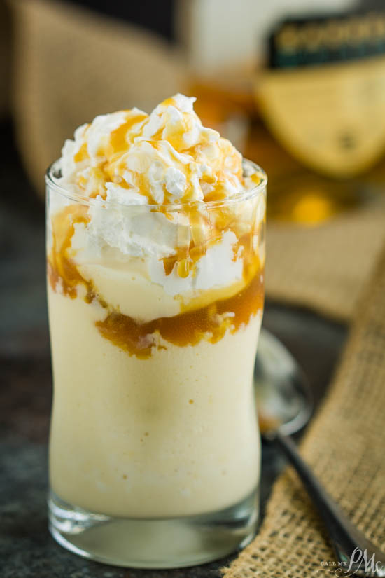 Add a boozy twist to a frosty favorite! Cool, creamy, rich, decadent, and totally delicious, Caramel Bourbon Milkshake is the perfect adult milkshake!