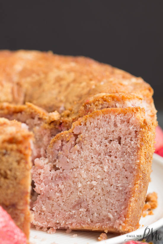 Made From Scratch Strawberry Pound Cake