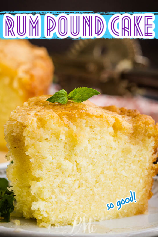 This delicate Totally Scratch-made Rum Pound Cake with Rum Glaze is incredibly moist, fragrant, and good for any season. It transports well and is full of booze which makes it perfect for any holiday or potluck gathering.