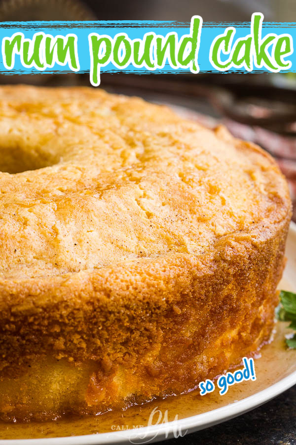 This delicate  with Rum Glaze is incredibly moist, fragrant, and good for any season. It transports well and is full of booze which makes it perfect for any holiday or potluck gathering.