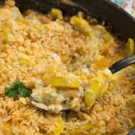 Old Fashioned Southern Squash Casserole