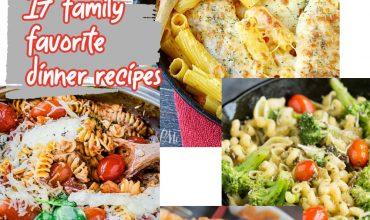 My 17+ Favorite Weeknight Pasta Dinners