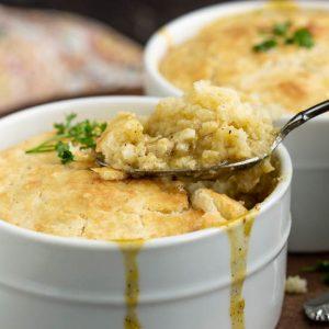 Chicken n Dumpling Casserole for Two