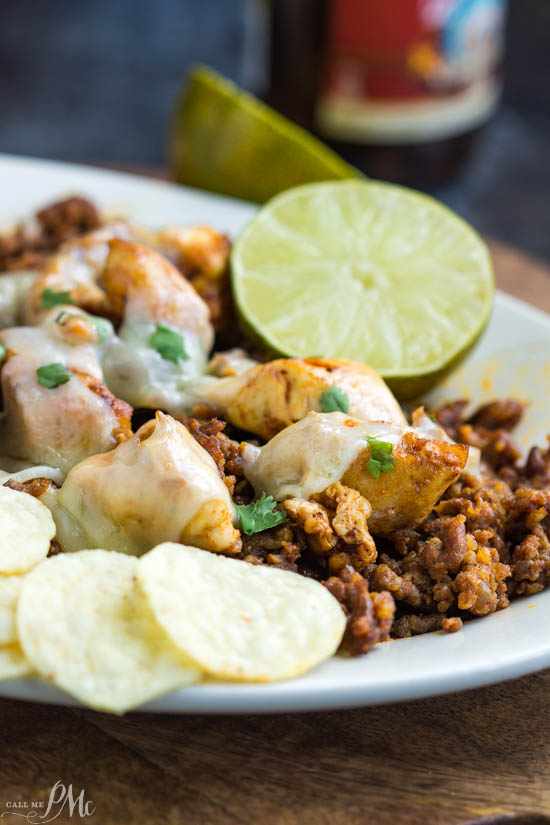 Chori Pollo (Chorizo Chicken) is my restaurant remake of my son's favorite Mexican entree. Chori Pollo is spicy chorizo sausage, grilled chicken, spices, and cheese recipe. You can eat it in soft or hard taco shells, with chips, over rice or greens.