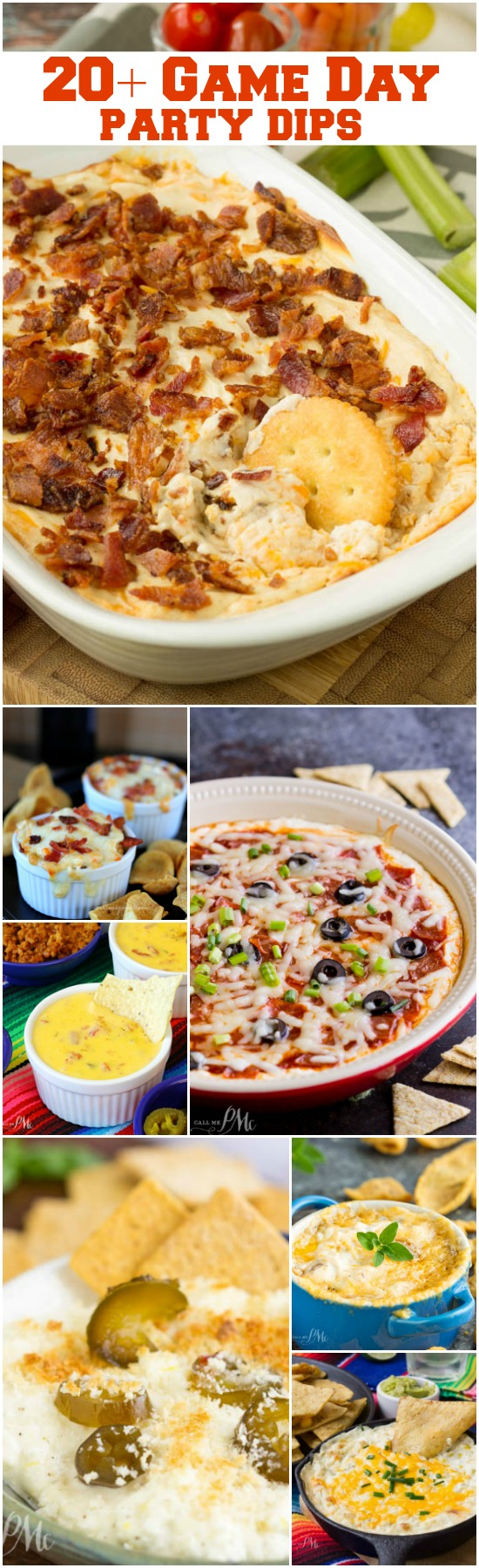 Easy Game Day Party Dip Recipes just in time for your football watch parties! Let your taste buds take a walk on the creamy, cheesy side with the party-worthy, fun, festive, and flavorful dip recipes. A creamy dip will never let you down!