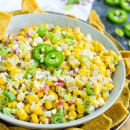 Mexican Street Corn Dip Recipe