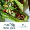 October Monthly Recipe Meal Plan