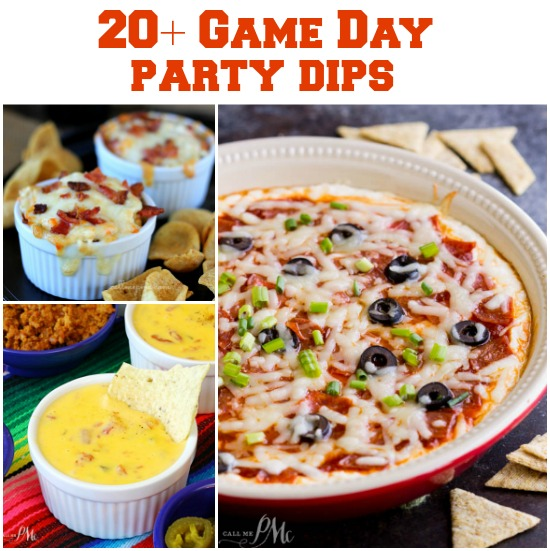 20 Easy Game Day Party Dip Recipes Call Me Pmc