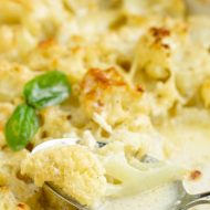 Scalloped Mascarpone Cauliflower