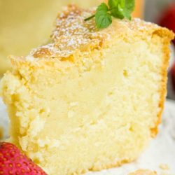Award-winning Mascarpone Pound Cake
