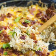 One Pan Best Damn Jalapeno Popper Hash Brown Casserole Recipe