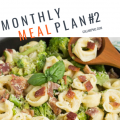 Monthly Meal Plan #2
