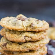 Ranger Cookies with Chex has all the goodness of Chocolate Chip Cookies with more crunch and more flavor. These are big bakery-style cookies with crispy edges and chewy centers.