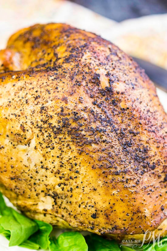 Best Holiday Roast Turkey Breast is a smaller and more simple main course classic recipe that's flavor-packed, juicy, and tender.