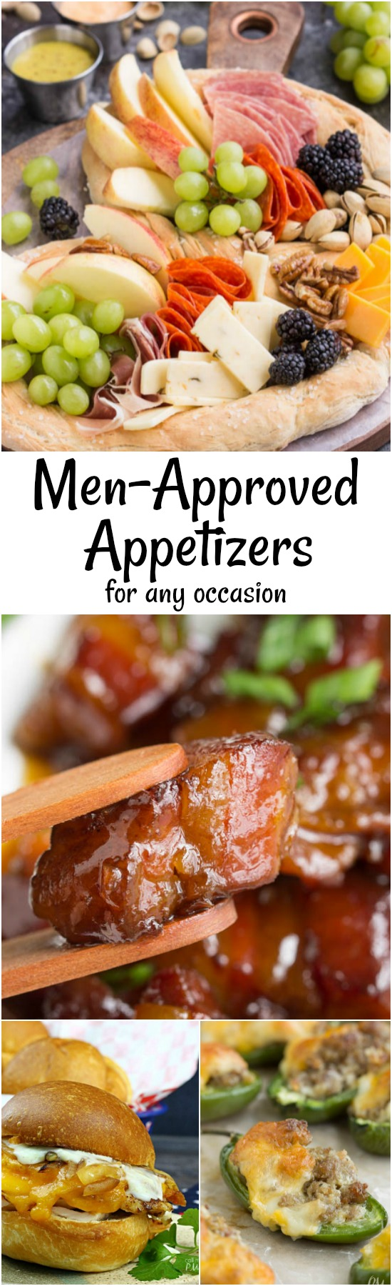 11 Hearty Men Approved Appetizers