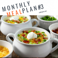 Monthly Meal Plan #3