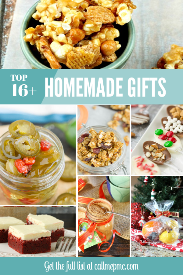 6+ Easy Homemade Gifts to Make for the Holidays. Homemade gifts are a heartfelt gesture that lets friends know you value them. #gifts #homemadegifts #homemade #Christmas #recipes via @pmctunejones