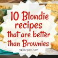 10 Blondies Recipes that are Better than Brownies
