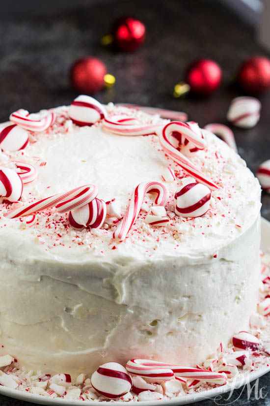 If you're looking for a show-stopping winter holiday cake, Peppermint Candy Three Layer Cake is the recipe to make. Layers of wonderfully delightful, tender vanilla cake is topped with lightpeppermint frosting.