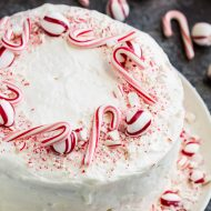 If you're looking for a show-stopping winter holiday cake, Peppermint Candy Three Layer Cake is the recipe to make. Layers of wonderfully delightful, tender vanilla cake is topped with light peppermint frosting.