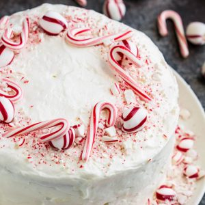 Peppermint Candy Three Layer Cake