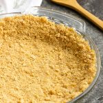 How to Make a No-Bake Graham Cracker Crust - quick and easy this classic graham cracker crust recipe has a few simple ingredients. It's great for no-bake pies or cheesecakes.