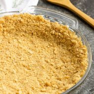 How to Make a No-Bake Graham Cracker Crust
