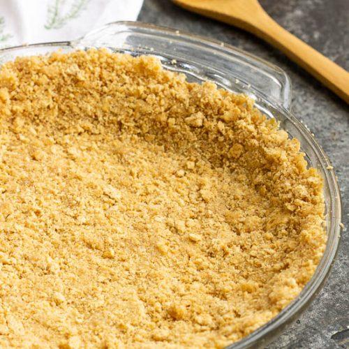 How To Make A No Bake Graham Cracker Crust Call Me Pmc