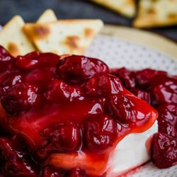 Strawberry Block Cream Cheese Spread
