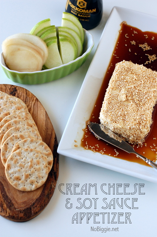 Cream Cheese and Soy Appetizer is another great twist on an Asian inspired spread.