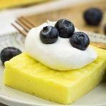 2 Ingredient Fat Free Lemon Sheet Cake