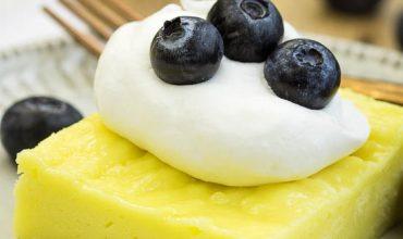2 Ingredient Fat-Free Lemon Sheet Cake