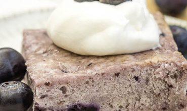 Angel Food Fat-Free Blueberry Cake recipe