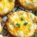 These Baked Crack Chicken Biscuit Bites are full of chicken, ranch, bacon,and cheese in convenient biscuit dough cup. Simple to make and always a crowd-pleaser! This recipe is great for gameday,entertaining, and snacks.