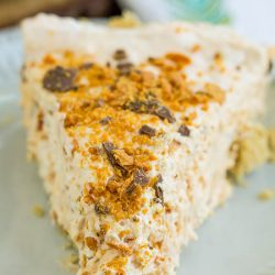 Epic No-Bake Butterfinger™ Cheesecake Pie