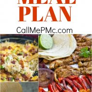 Monthly Meal Plan 5 – Because life is hectic and planning meals the last minute is the last thing I want to do!
