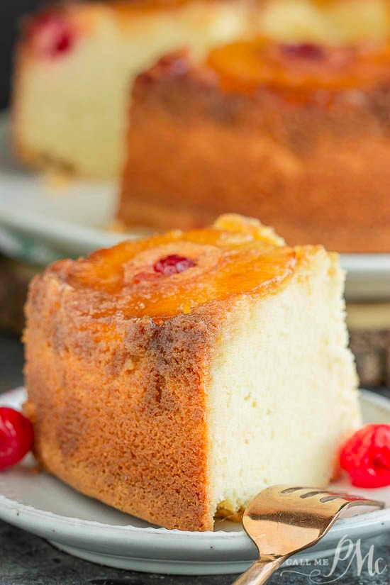 Amaretto Pineapple Upside Down Pound Cake recipe is an elevated take on an American classic. A moist pineapple upside-down cake joins a buttery pound cake for a spectacular dessert.