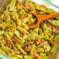 Deconstructed Green Bean Bundles Casserole