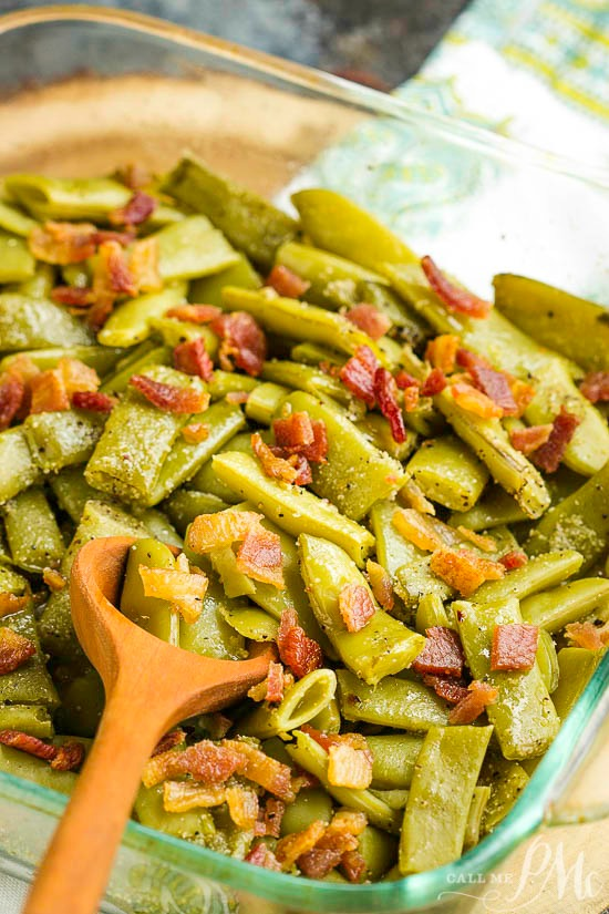 Deconstructed Green Bean Bundles Casserole is a super easy and delicious side dish that's Paleo, Whole30, and Keto friendly!