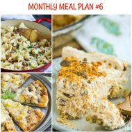 Monthly Meal Plan 6