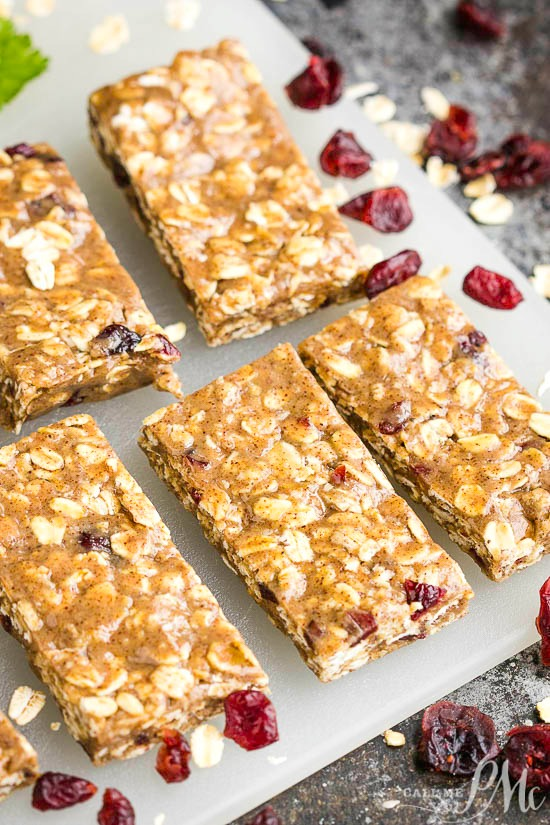 No Bake Almond Butter Bars