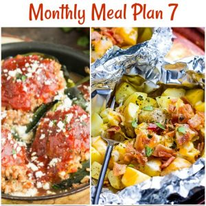 Monthly Meal Plan 7