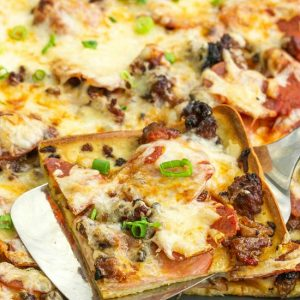 NO KNEAD CRAZY CRUST PIZZA