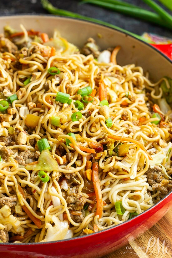 A simple, easy, and spicy recipe, Sriracha Ramen Noodle Recipe is a grown-up version of the classic budget snack you ate in college!