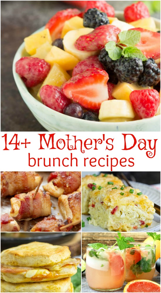 Wow the mom's in your life by preparing brunch with recipes from my collection, Best Mother's Day Brunch Buffet Recipes.