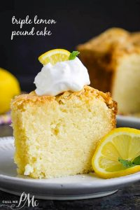 BEST TRIPLE LEMON POUND CAKE RECIPE
